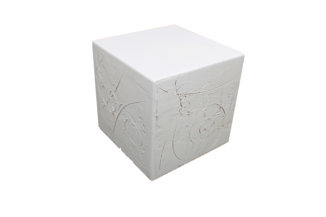 Dekosockel Cube Spachtel OC