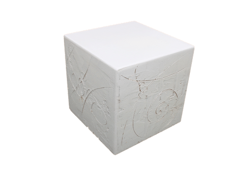 Dekosockel Cube Spachtel OC